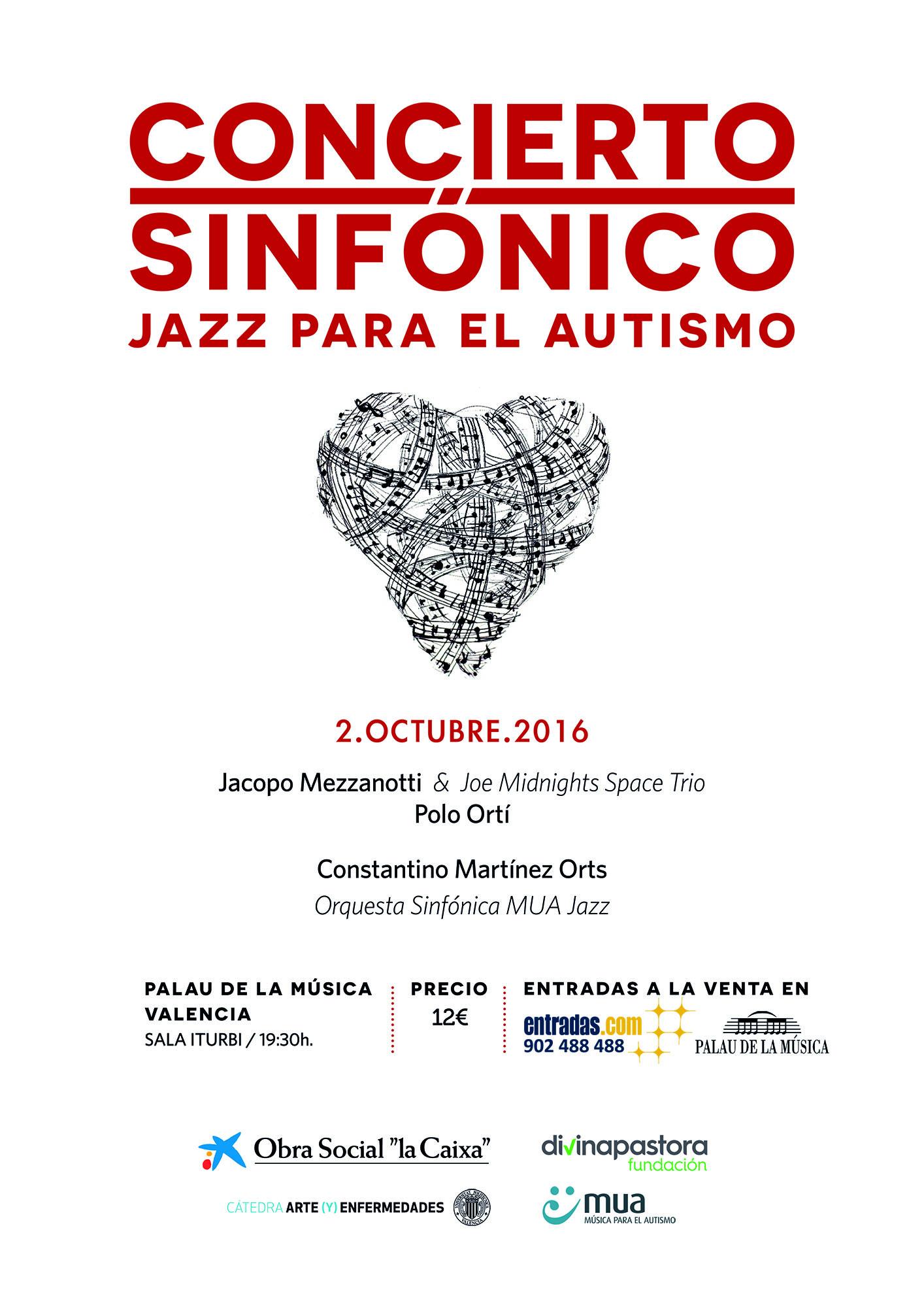Concierto Sinfónico Jazz para el autismo