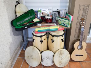 Instrumentos donados