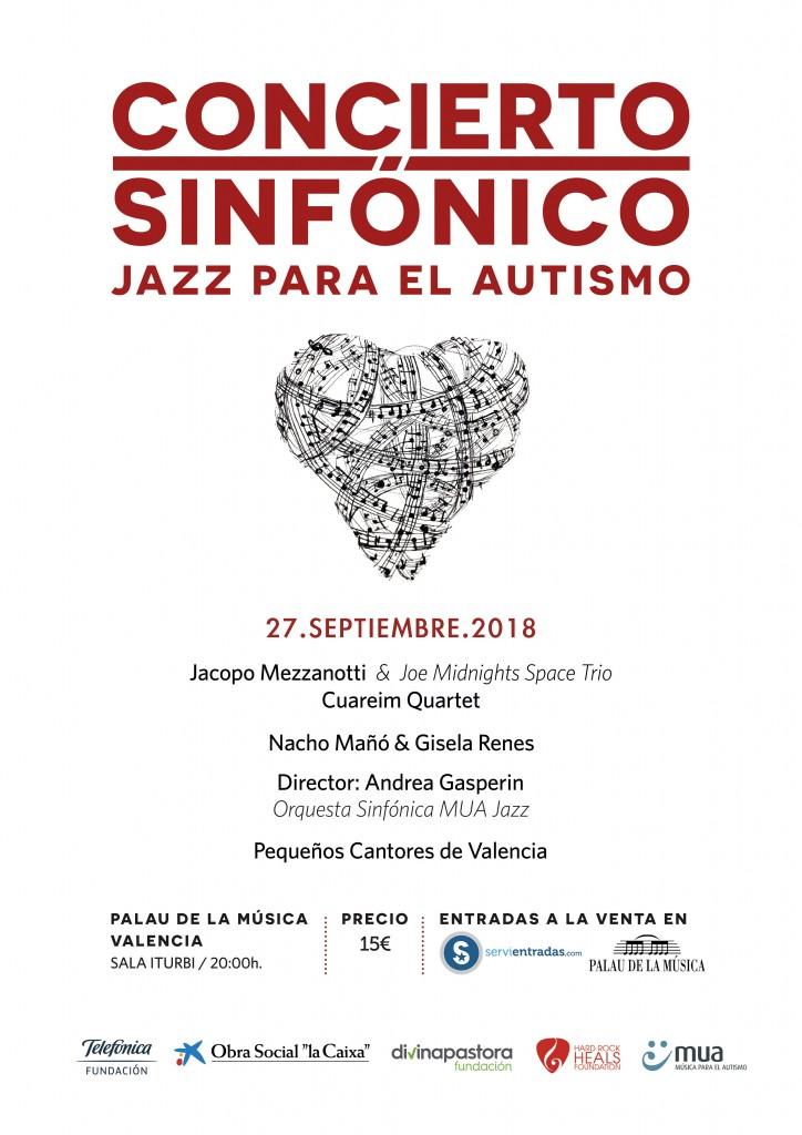 Concierto Sinfónico Jazz para el Autismo 2018