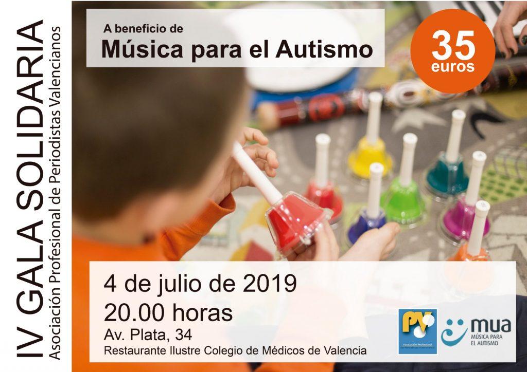 Gala Soliaria en favor de MUA organizada por la APPV