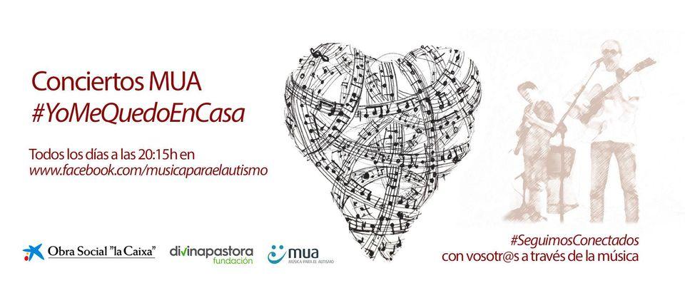 Ciclo de Mini conciertos #YoMeQuedoEnCasa