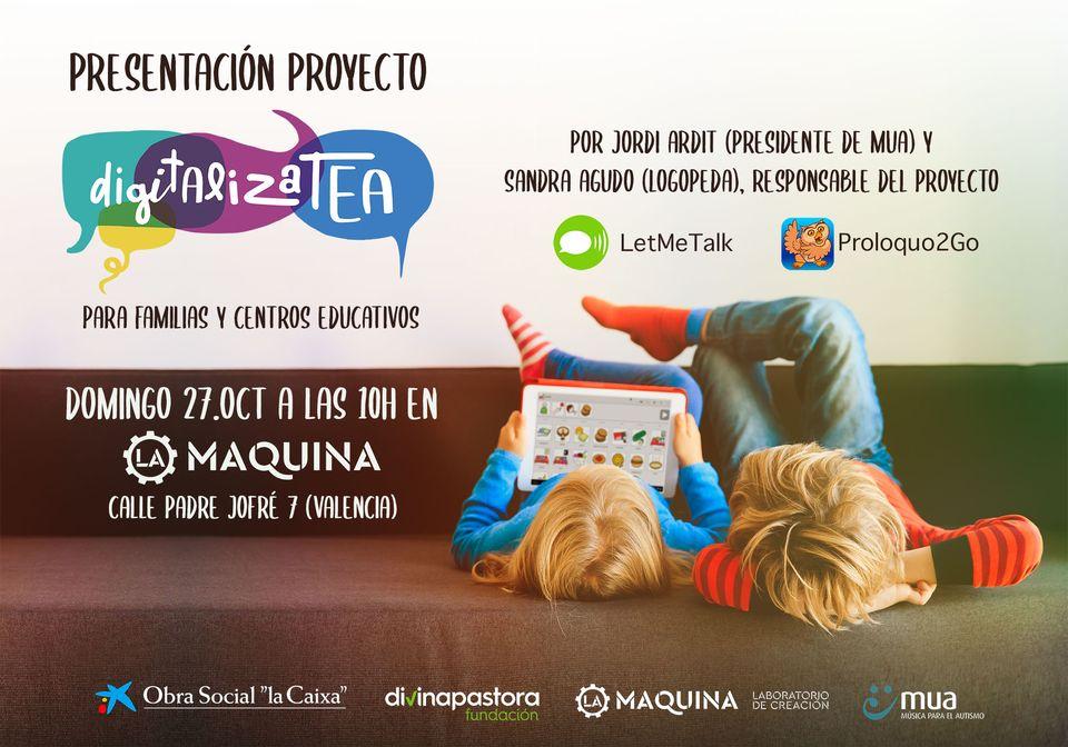 Presentación proyecto #DigitalizaTEA
