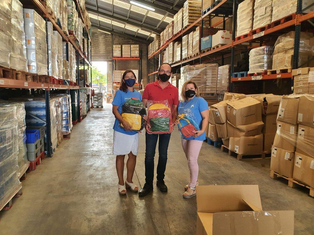 Donación de Kits de Vuelta el Cole por la Fundación La Caixa